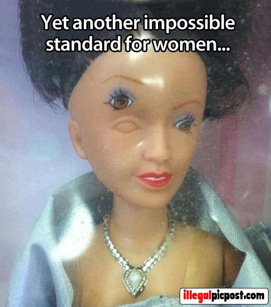 Het nieuwe schoonheids ideaal van Barbie